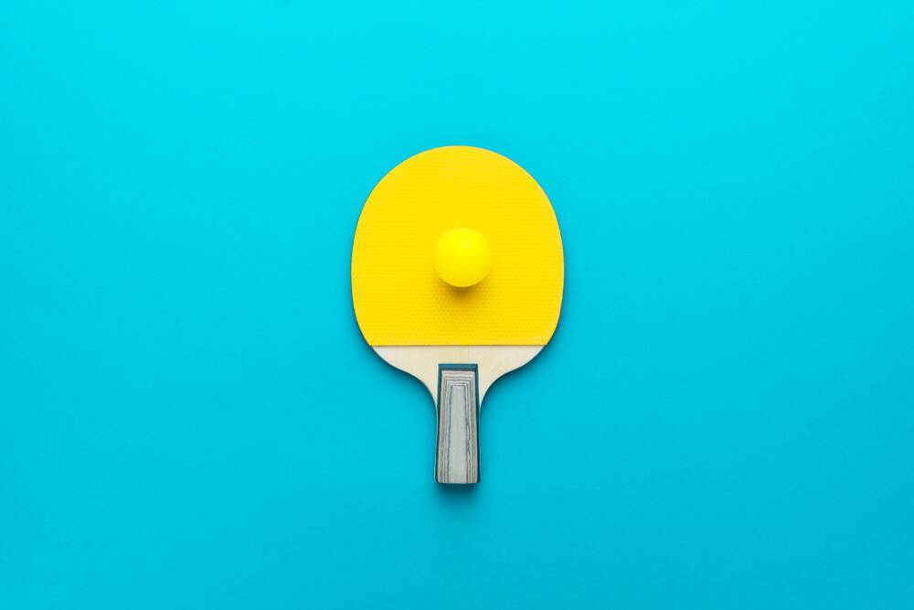 ping pong paddle cleaner