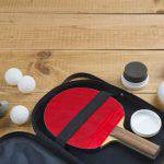 Ping pong paddle case