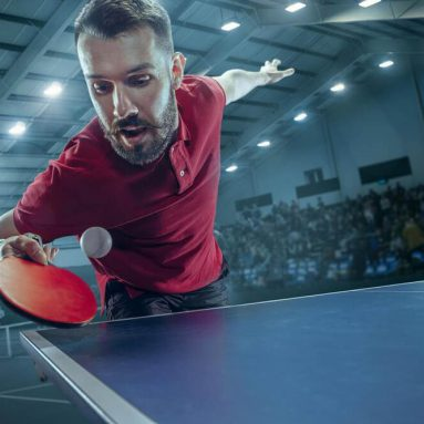 Is it Weird that Ping Pong Players Wipe their Hands on the Table?